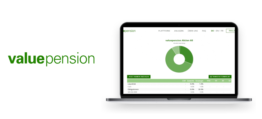 Valuepension Review (2nd pillar pension fund) from Finpension – Best in Switzerland?